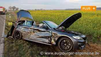 Unfall: Zwei Autos stoßen zwischen Attenhofen und Pfaffenhofen zusammen - Augsburger Allgemeine