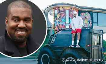 Chris Brown claims Kanye West has bought him a TANK truck