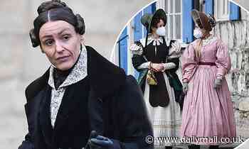 Suranne Jones continues to film Gentleman Jack in York