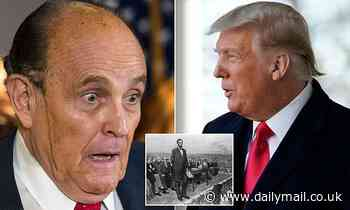 Donald Trump CANCELS plan to watch Rudy Giuliani make claims of voter fraud in Gettysburg
