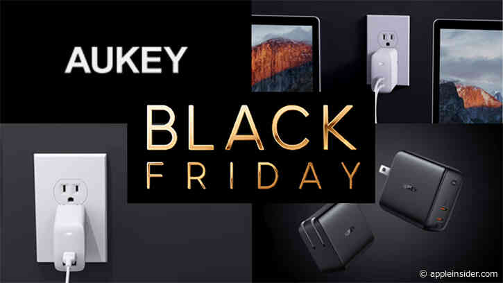 Black Friday deals: save up to 43% on Aukey GaN USB-C chargers to power your Apple devices