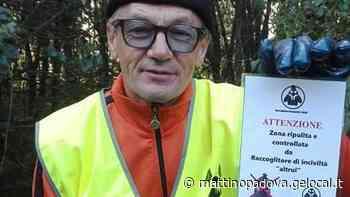 Fare il raccoglitore d'inciviltà a Montagnana, ecco la missione di Luciano Strabello - Il Mattino di Padova