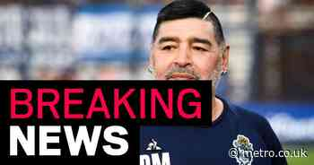 Diego Maradona dead two weeks after leaving hospital, Argentine media reports