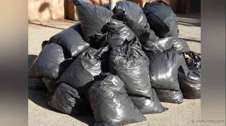 EBR Parish's Thanksgiving holiday curbside garbage, recycling collection schedule
