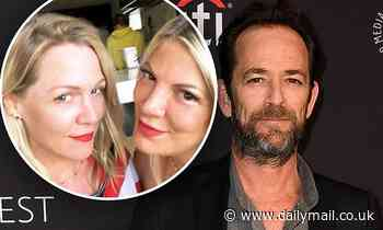 Tori Spelling and Jennie Garth remember late 90210 co-star Luke Perry: 'It still doesn't feel real'