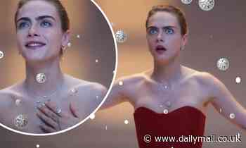 Cara Delevingne is a festive vision in new Dior jewellery campaign