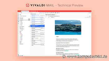 Vivaldi 3.5: Mail, Kalender und RSS-Reader kommen