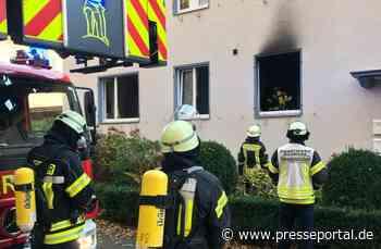 FW-DT: Wohnungsbrand mit Menschenleben in Gefahr