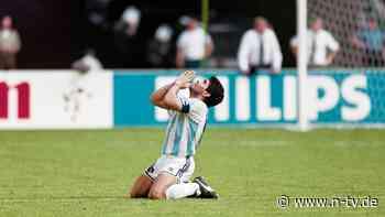 Legende stirbt mit 60 Jahren: Die Fußball-Welt trauert um Maradona