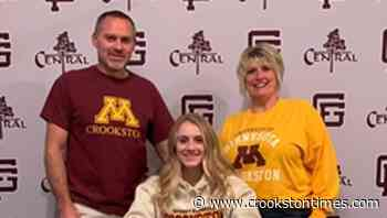 Grand Forks' Clara Hanson signs with Minnesota Crookston women's golf - Crookston Daily Times