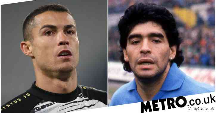 Cristiano Ronaldo pays tribute to Diego Maradona after Argentina legend dies aged 60
