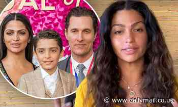 Camila Alves opens up about having an emergency C-section with her and Matthew McConaughey's child