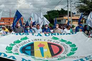 Zambrano recorrió Cabudare para promover la Consulta Popular - La Prensa de Lara