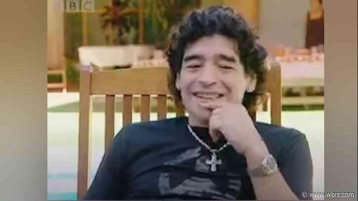 Soccer legend Diego Maradona dies at 60