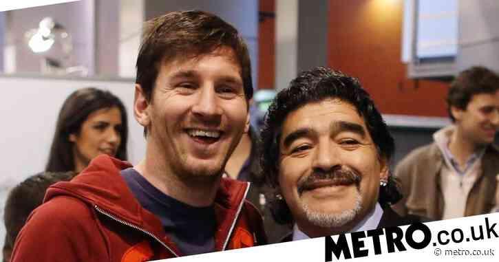 Lionel Messi pays tribute to 'eternal' Diego Maradona
