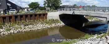 Rivière Lorette: 35 M$ pour le mur anticrue