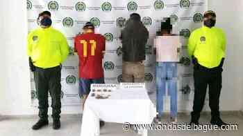 Cayeron tres jíbaros de Ambalema que repartían marihuana y bazuco en más de 10 barrios - Ondas de Ibagué