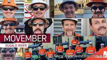 MMG Dugald River support men's health by participating in Movember - The North West Star