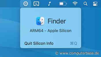 Apple M1: Silicon Info informiert über verwendete Architektur [Notiz]