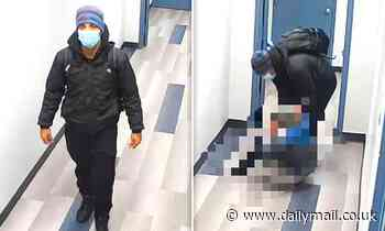 Police arrest man 'caught on video trying to rape girl, 14, in hallway of cardiologist's office'