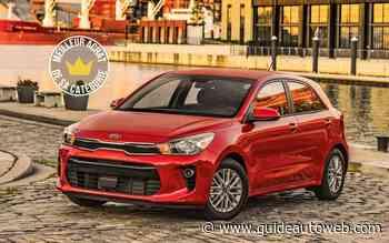 Meilleurs achats 2021 du Guide de l'auto : Kia Rio