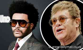 The Weeknd continues to call out the Grammys over snub... as Elton John sends his support
