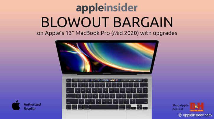 Flash deal: $300 off Intel 13-inch MacBook Pro (16GB, 256GB), now $1,199