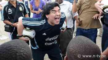 Exzentrisch und unvergessen: Diese Momente machten Maradona zur Legende
