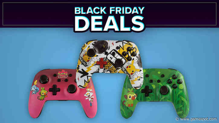 Black Friday 2020: Stylish Nintendo Switch Wireless Controllers Discounted At Amazon