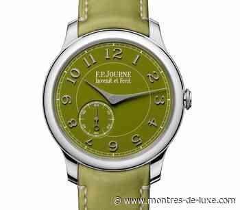 FP Journe : un Chronomètre Souverain en platine avec cadran vert en collaboration avec Seddiqi - Montres-de-luxe.com