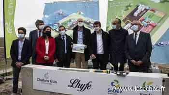 Vendée : le premier site de production d'hydrogène vert en construction à Bouin - Les Échos