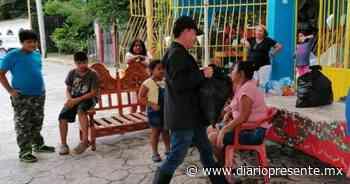 Ayuntamiento de Tenosique entrega ayuda humanitaria - Diario Presente