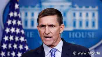 Schuldig in Russland-Affäre: Trump begnadigt Ex-Sicherheitsberater Flynn