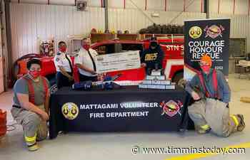 Mattagami First Nation fire department buys new equipment with funding - TimminsToday