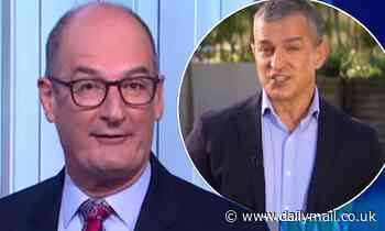 Sunrise host David 'Kochie' Koch is forced to cut off a guest during a VERY awkward live cross