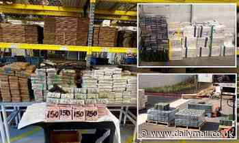 San Diego authorities bust 'three members' of Sinaloa Cartel, seizing $3.5 million in cash