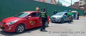 Operativo contra el servicio de transporte – Los Andes - Los Andes Perú