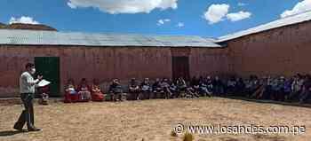 Capacitan a trabajadores en normativas vigentes – Los Andes - Los Andes Perú