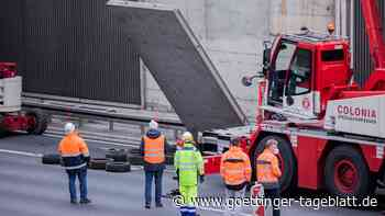 Nach tödlichem Unfall: Mangelhafte Konstruktion an A-3-Betonwand schon 2008 bekannt