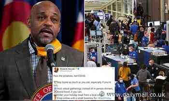 Denver mayor jets to Mississippi to celebrate Thanksgiving after telling residents to stay home