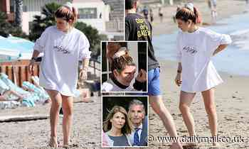 Lori Loughlin's daughter relaxes at a luxury Santa Barbara resort as her parents sit in jail