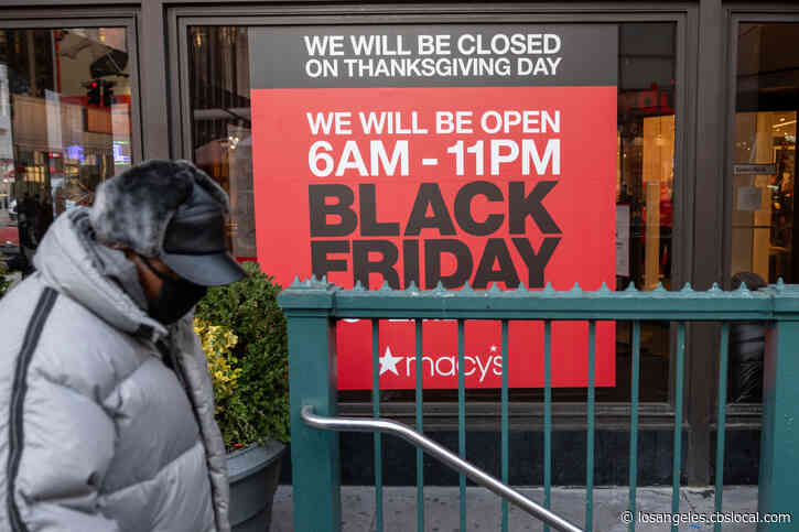 Many Retail Stores Closed On Thanksgiving; Black Friday Hours Start At 6 A.M.