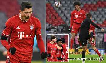 Bayern Munich 3-1 RB Salzburg: Robert Lewandowski and Leroy Sane goals ensure progress to last 16