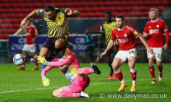 Bristol City 0-0 Watford: Cathcart spurns best chance as in-form rivals share the spoils