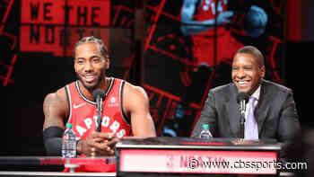 Kawhi Leonard says he was was woken up in the NBA bubble by Raptors president Masai Ujiri's workout routine