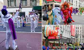 Macy's spoiler alert! Holiday cheer comes to NYC as performers pre-tape Thanksgiving Day Parade