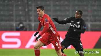 FC Bayern - Salzburg im Ticker: Flick-Elf siegt mit Dusel und kalter Schnauze - trotz Platzverweis