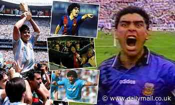 MARTIN SAMUEL: Diego Maradona was the people's footballer whose genius will outlive his notoriety