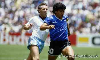 PETER REID: I tried to catch Diego Maradona but I was like an old horse chasing Frankel!