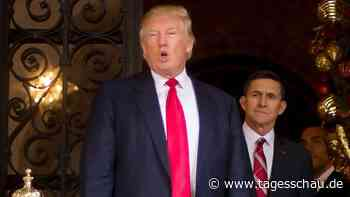 Russland-Affäre: Trump begnadigt Ex-Sicherheitsberater Flynn